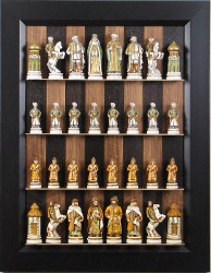Another Option For Tall Chess Pieces Is To Build A Display Board As Show Here I Can Design These Boards Most Any Set In This Case Was 6